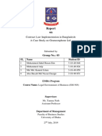 Term Paper - Legal Environment of Business Course