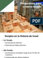 Escatologia 7 preparativos del nuevo templo