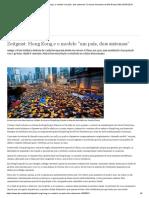 Zeitgeist_ Hong Kong e o Modelo ″Um País, Dois Sistemas″ _ Colunas Semanais Da DW Brasil _ DW _ 05.09.2016