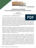 Territorialidad, Historicidad Dubatti Revista Afuera(1)