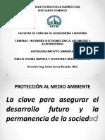 Sesión EL SISTEMA EMPRESA Y SU ENTORNO MEDIO AMBIENTAL