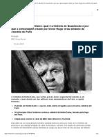 Incêndio Em Notre-Dame_ Qual é a História de Quasimodo e Por Que o Personagem Criado Por Victor Hugo Virou Símbolo Da Catedral de Paris - BBC News Brasil