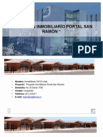 proyecto inmobiliario portal san ramon