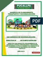 Directiva Procedimiento de Denuncias Mpcp Final Mpcp