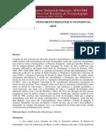 TRAJETÓRIA DO PENSAMENTO PEDAGÓGICO NO ENSINO DA ARTE