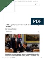 7 a 1_ Os Capítulos Marcantes Da 'Amizade Desigual' Entre Trump e Bolsonaro - BBC News Brasil