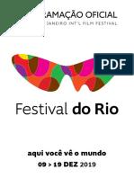 revista programação festival do Rio 2019
