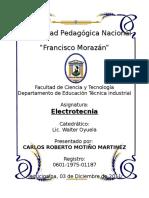 Informe de Lab de Electricidad