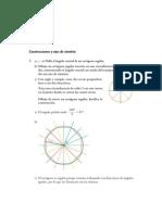Matematicas Resueltos (Soluciones) Polígonos Regulares y Circunferencia 1º ESO