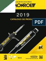 Monroe Catalogo Amortecedores 2019