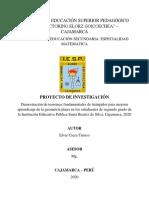 Proyecto de Investigacion - 2020