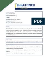 Plano de Ensino_Filosofia da Educação_Pedagogia