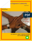 Alpha Eritrean Engineers Community's Magazine (October's issue)