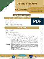 Agenda Legislativa de la semana del 16  al 20  de diciembre de 2019.pdf