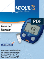 ContourTS GLUCOMETRO Manual Usuario