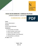 Ley de Servicio Civil-Perú