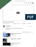 (13) Def Leppard - Love Bites [HQ] - cambridge