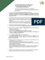 Procesal Civil y Mercantil II