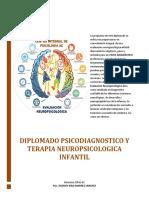 Temario Diplomado Psicodiagnostico y Terapia Neuropsicologica Publicidad