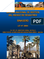 Ley Del SINAGERD