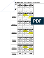 time table (2)