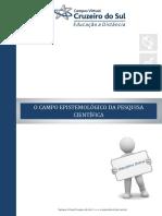 apostila 1- O CAMPO EPISTEMOLÓGICO