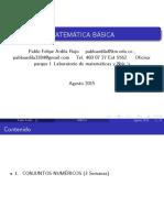 primera clase de BASICAS 2015-2 ofi