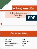 Calculo Numerico - MATLAB - ESIC_2019-1