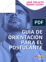 Guía de Orientación Al Postulante LIMA