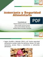 Exposición Soberanía y Seguridad Alimentaria