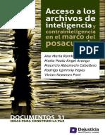 Accesos a archivos de inteligencia