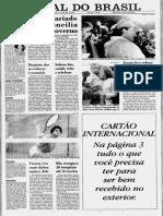 Jornal do Brasil 13/06/1991