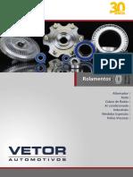 Vetor Catalogo Aplicações Rolamentos 2019