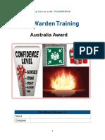 Fire Warden Training Doc