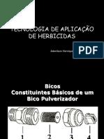 2a Aula prática TECNOLOGIA DE APLICAÇÃO DE HERBICIDAS
