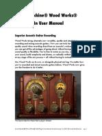 Sound Machine Wood Works Manual