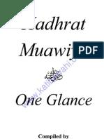 HadhratMuawiyaRA-OneGlance-MuftiAfzalHoosenElias