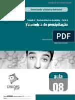 Unidade 3 - Volumetria de Precipitação_A08_M_WEB_161008