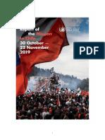 UN Human Rights Report Chile 2019