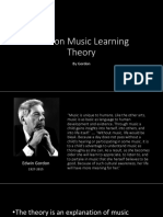 Gordon Music Learning Theory