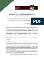 Revista Juris Uni Toledo - Obrigação de alimentos