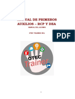 Manual Rcp Primeros Auxilios y Dea