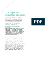 STRENGTHENING QUALITY MIDWIFERY EDUCATION FOR 2030 - WHO UNFPA UNICEF PART 4