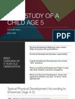 case study age 5