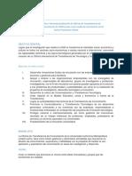 Creación de OTC con aportaciones de Curso de Formación de Investigador