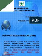 FAKTOR RISIKO PTM