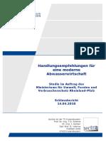 Bericht_Handlungsempfehlungen Abwasser 2010 Uni Kaiserslautern