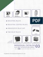 Fuji Electricalcomponants Industrialrelays Industrialcontrolrelays Annunciatorrelays Timedelayrelays Cat 20thedition 03