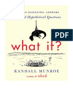 [2014] What If? by Randall Munroe | Serious Scientific Answers to Absurd Hypothetical Questions | Houghton Mifflin Harcourt