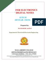 power electronics digital notes